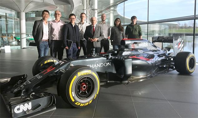 Sir Jackie's McLaren roots