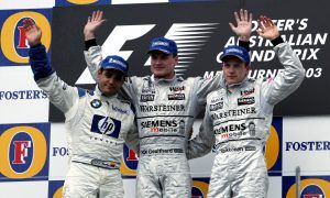 Birthday boy Coulthard's final Grand Prix triumph