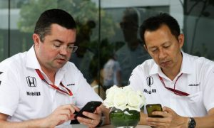 'We are 100 percent committed to McLaren,' says Honda