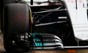 F1 averts suspension row as teams change designs