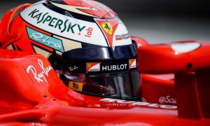 Raikkonen tops times mid-day, as trouble hits Mercedes