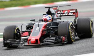 Haas brake issues not fully resolved - Grosjean