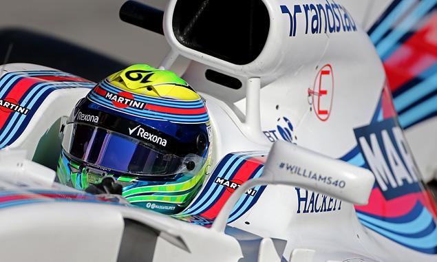 Massa bumps Ricciardo off the top in morning testing