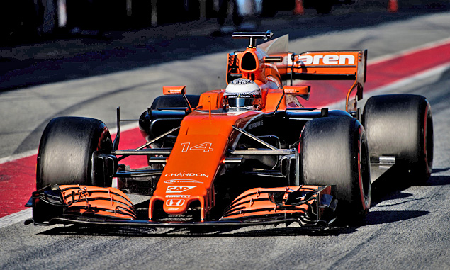 Alonso welcomes extra grip from new 2017 rules