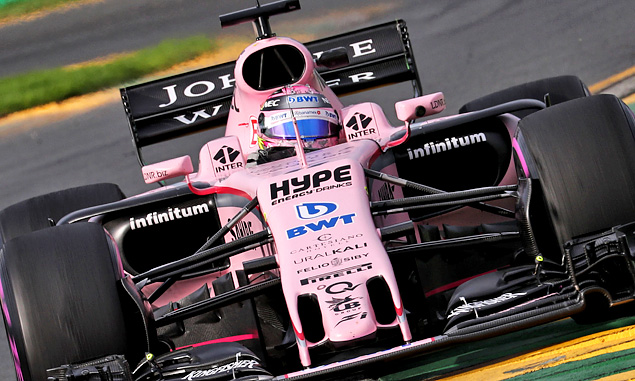 'Routine' start for Force India in Melbourne