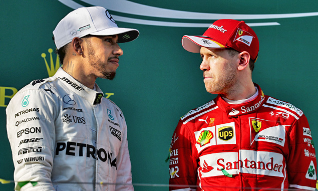 Vettel and Hamilton 'looking forward' to close title fight