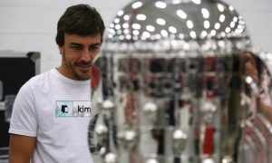 Alonso's day at Andretti Autosport in pictures