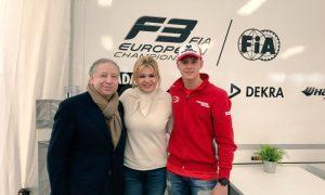 The FIA President supports Mick Schumacher