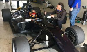 Kubica gets back in a single-seater!