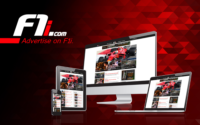 Advertise on F1i.com