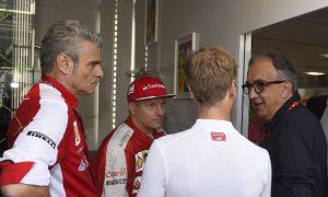 Raikkonen: 'Everything is fine' with Ferrari president Marchionne