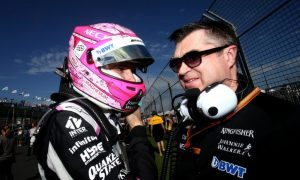 More points in Ocon's line of sight