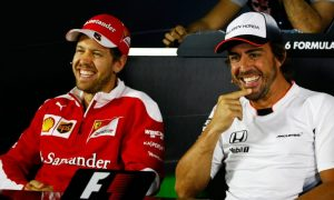 Alonso denies having any bad feelings towards Vettel