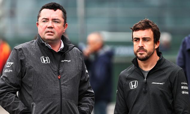 'Better show tomorrow,' promises McLaren's Boullier