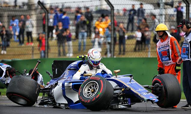 Giovinazzi apologises for costly qualifying error