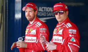 Vettel says Raikkonen 'deserved better' in opening races
