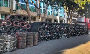 Monaco lays down the rubber