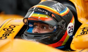 Alonso reveals Indy 500 helmet livery!