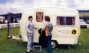 The days when a simple caravan was 'home away from home'
