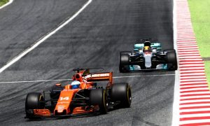 Alonso: points out of reach even without Massa run-in
