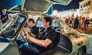 Toto Wolff travels in style at the 2017 Mille Miglia