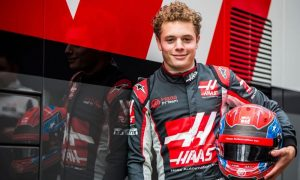 Santino Ferruci continues as Haas development driver