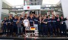 Sauber F1 Team celebrates in Spain