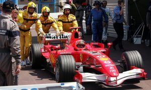 Michael Schumacher's inglorious Monaco moment