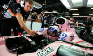 How do you strap an F1 driver in his seat? Watch this...