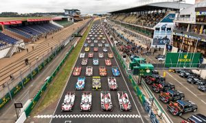 Lining up for the 85th Le Mans race
