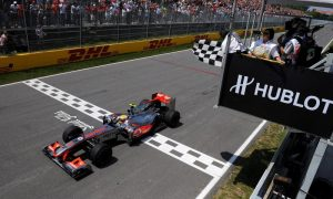 Which drivers won their maiden Grand Prix in Canada?