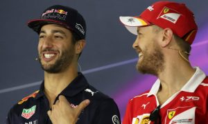 Ricciardo: 'Seb sometimes doesn't think before he acts!