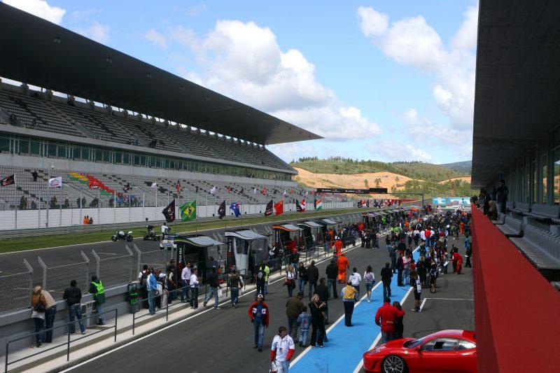 Portimao, Portugal,  pitlane atmosphere