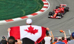 Raikkonen fastest on Friday afternoon in Canada