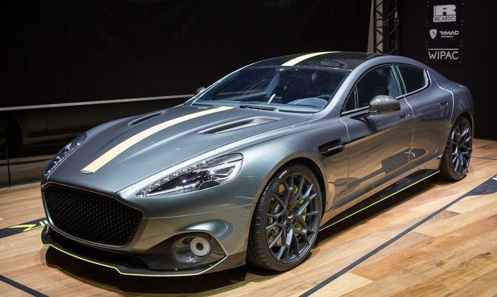 Williams Helps Aston Martin Go Electric With Rapide