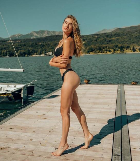 Esteban Ocon's girlfriend Elena Berri