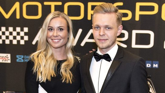 Kevin Magnussen is dating Louise Gjørup