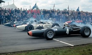 When Clark led a quintet of Brits at Silverstone