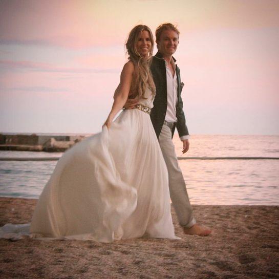 Nico and Vivian Rosberg