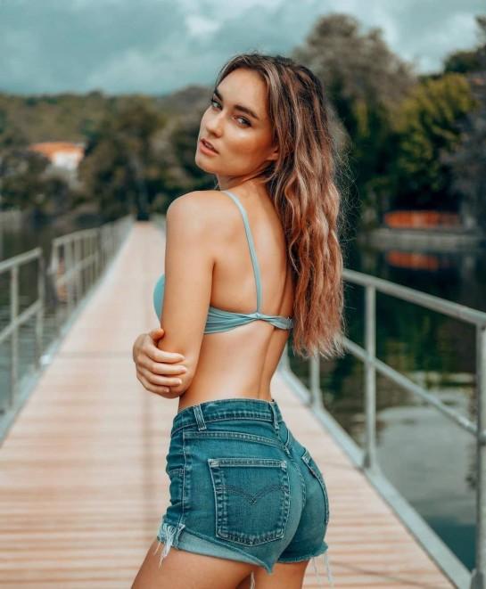 Esteban Ocon's girlfriend Elena Berri,
