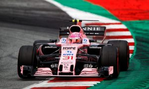 Ocon happy with strong race but questions strategy