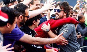 Formula 1 feels the love in London