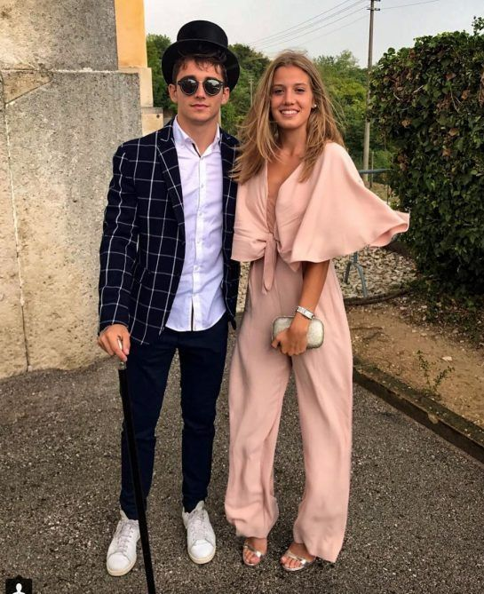 Charles Leclerc and Giada Gianni started dating in 2015