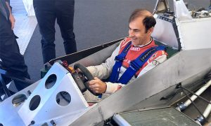 Six-wheel fun at Goodwood for Pirro