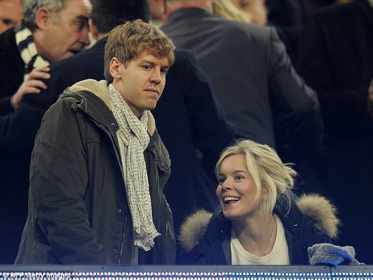 Sebastian Vettel and Hanna Prater have two children but have never married