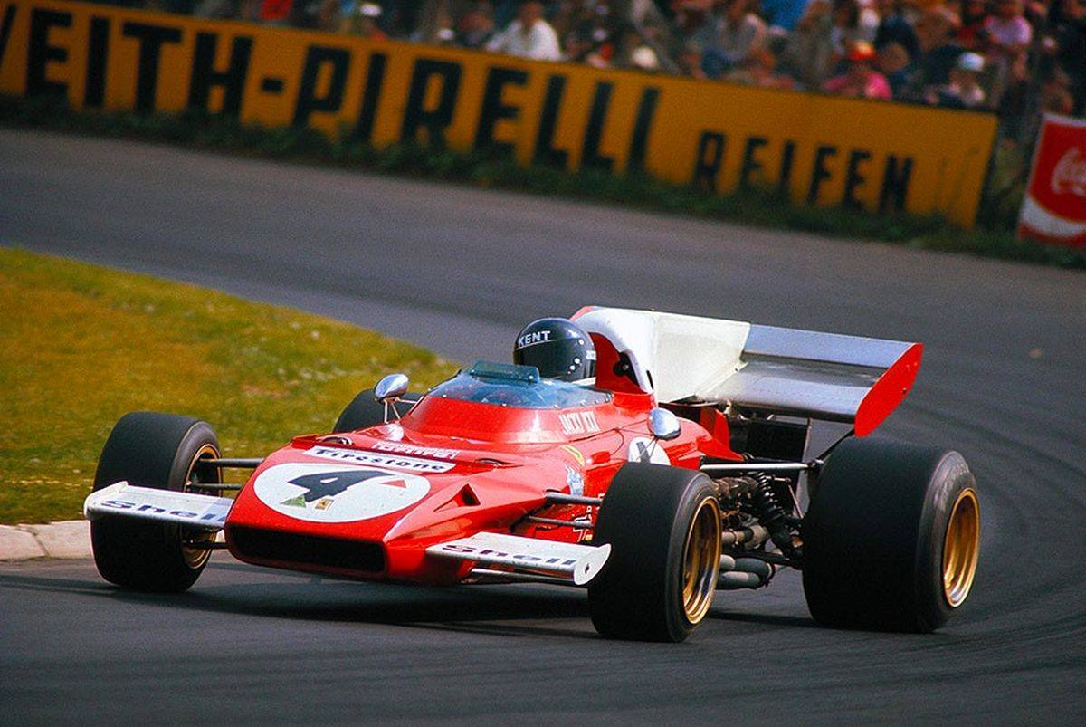 Jacky Ickx-German Grand Prix 1972