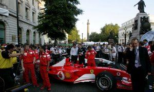 London gets live pre-Grand Prix street demo