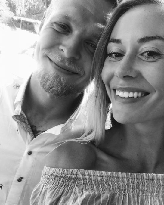 Louise Gjørup and Kevin Magnussen are due to get married in the summer of 2019