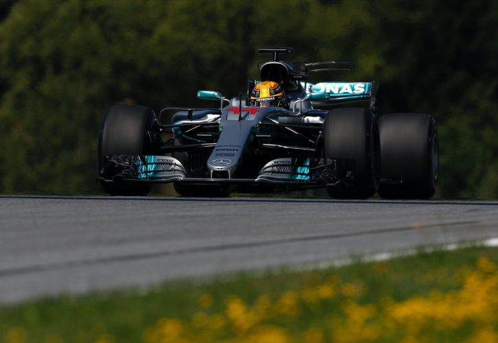 Mercedes Lewis Hamilton Austria