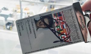 Want a chance to win Nico Rosberg's signed Silverstone pass?
